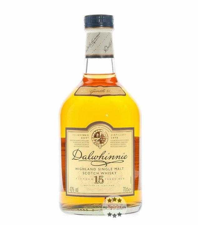 Dalwhinnie: 15 Years Old Single Malt Scotch Highland Whisky in Geschenk-Box