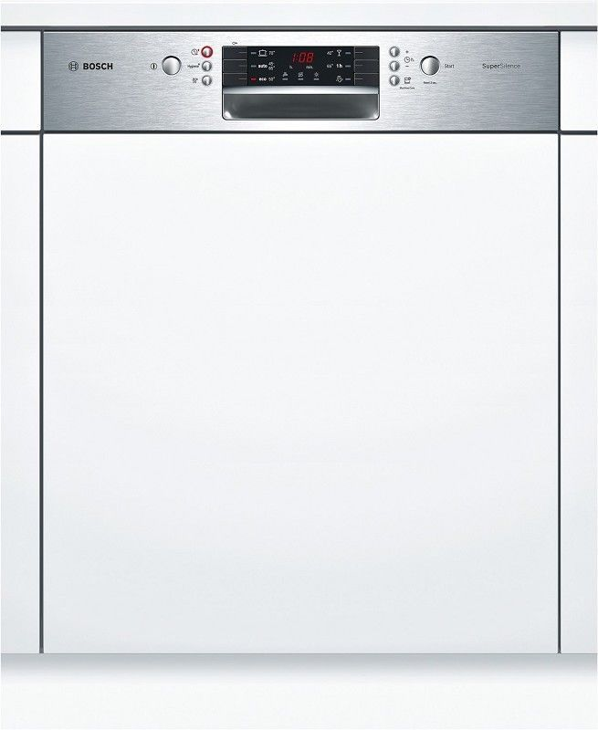 Bosch Einbau Geschirrspaler 60 Cm Smi46ks01e Geschirrspuler Geschirr Energieverbrauch