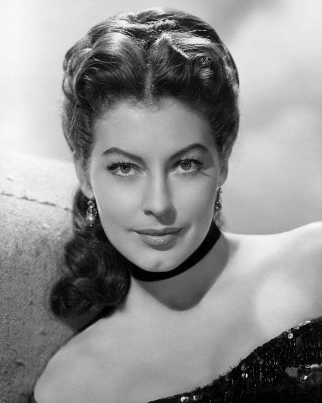Gorgeous American actress Ava Gardner, in a publicity shot for her role in the 1951 musical-drama 'Show Boat'.