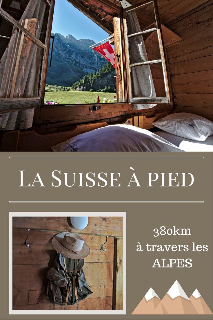 Découvrir la Suisse à pied. Présentation de notre projet de randonnée pour l'été 2017: la traversée de la Suisse à pied en suivant le tracé de la via alpina. Un sentier de randonnée de près de 400km à travers les Alpes Suisses.