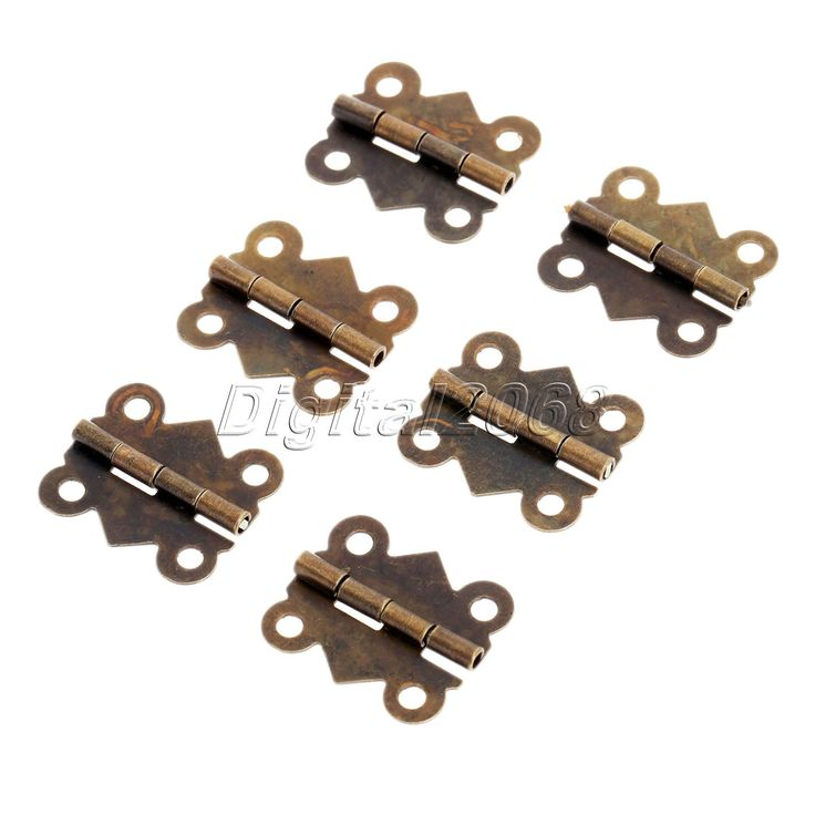 12pcs Bronze Butterfly Hinges