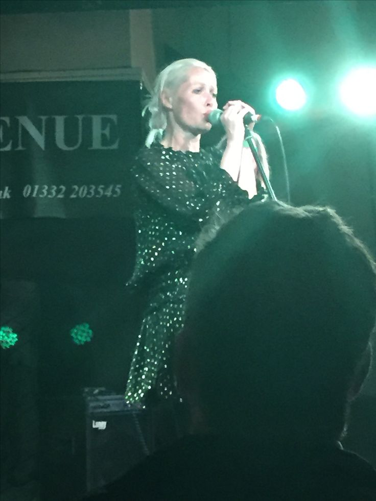 1st June 2016 Wendy James @The Venue, Derby. Such a good gig xx