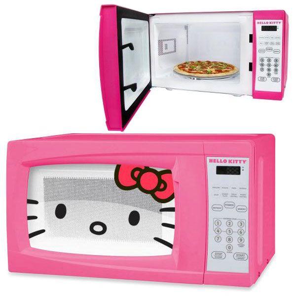 O Kitty Microwave