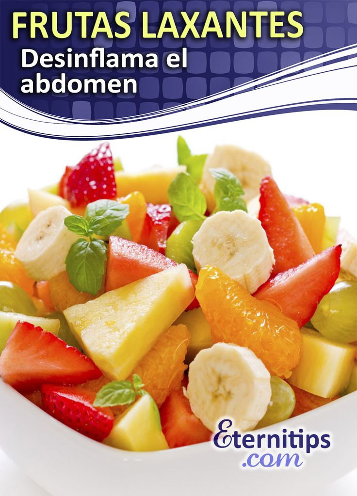Frutas laxantes para desinflamar el abdomen eternitips - Frutas diureticas y laxantes ...