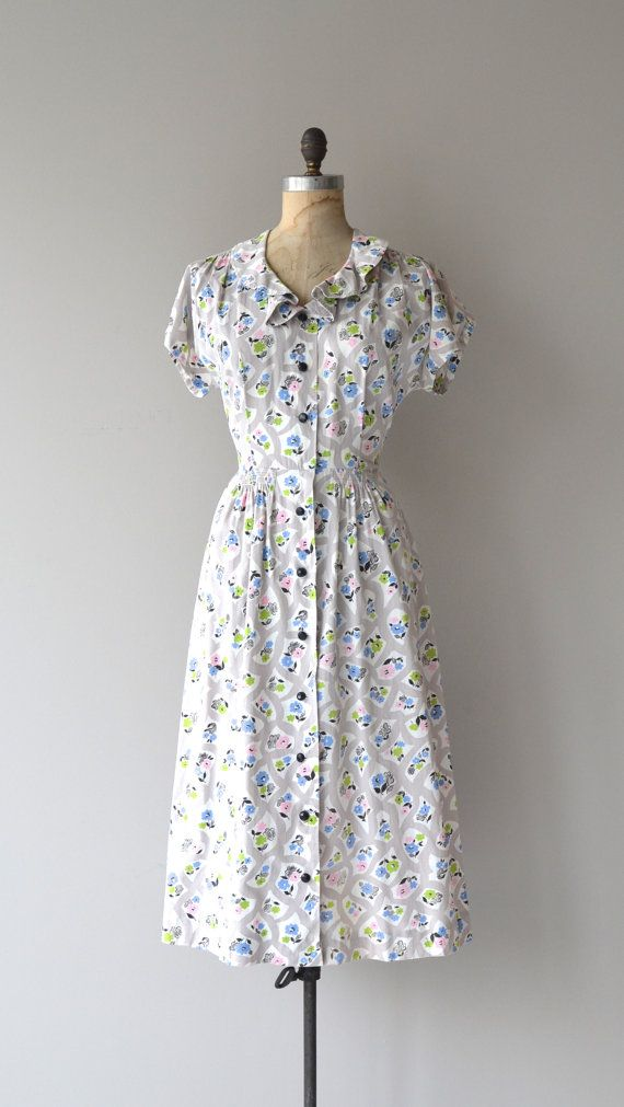 5290 best images about Vintage Fashion on Pinterest | Day dresses ...