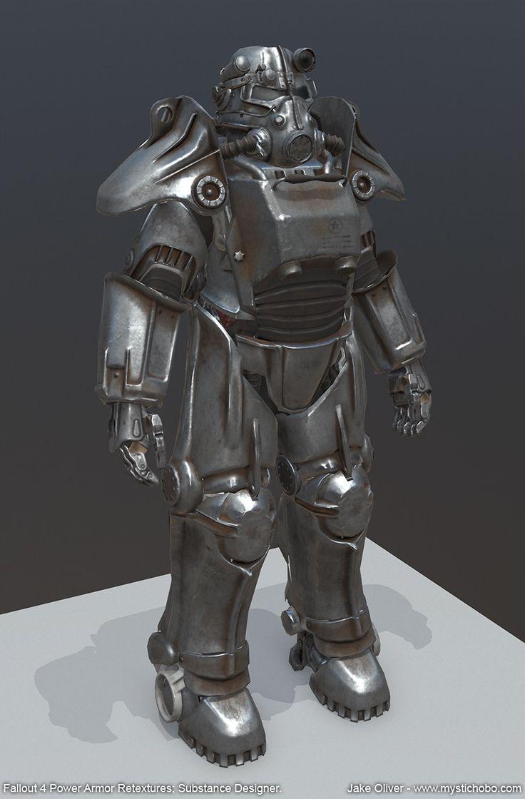 Fallout 4 Power Armor Retextures Substance Designer Jake Oliver On ArtStation At