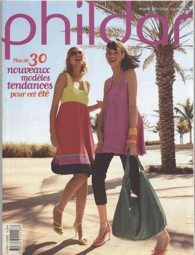 Catalogue Phildar N°491 Creations Collection Ete 2008.jpg - paty net - Picasa Webalbumok