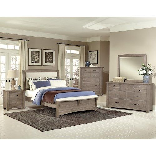 Transitions King Bedroom Group By Vaughan Bassett