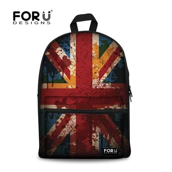 Check it on our site 2017 Fashion Korean Style Women Backpack UK US Flag Printing Backpack Casual Kids School Bags for Teenagers Laptop backpacks just only $23.99 with free shipping worldwide  #backpacksformen Plese click on picture to see our special price for you