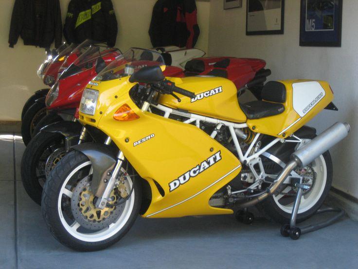 ducati 900ss yellow - Google Search