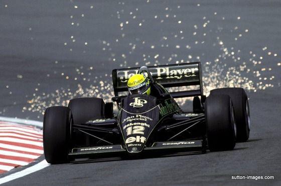 Ayrton Senna - Lotus 98T Renault EF15B - John Player Special Team Lotus - XLIV Grand Prix de Belgique - 1986 FIA Formula 1 World Championship, round 5
