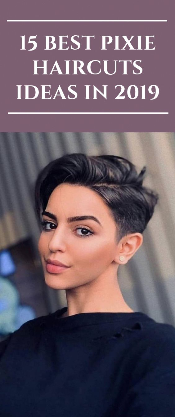 15 Best Pixie Haircuts Ideas in 2019 #hairstyles #Pixiehair #haircut #Pixihairst…