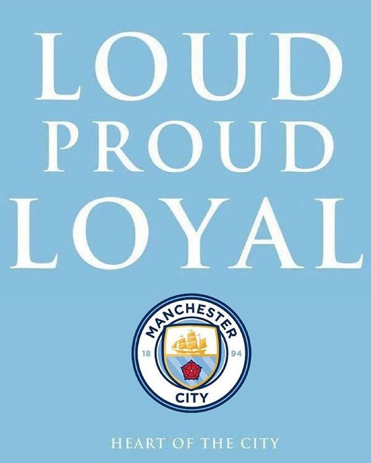 LOUD PROUD LOYAL  Manchester City FC #mcfc #mancity #manchester #manchestercity #manchestercityfc #bluemoon #etihad #etihadstadium #2016 #club #badge #crest #new #design #city #together #lovemcr #ilovemanchester #mcr #instapic #instagood