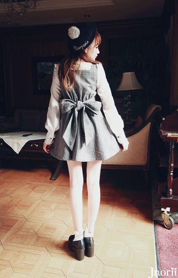 《新作》お嬢様クラシックジャンスカ-全2色-D1283|Autumn Winter Collection | Bobon21(ボボンニジュウイチ)