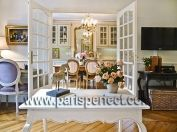 FRENCH APARTMENT RENTALS:  2 Bedroom Paris Apartment Rental with Eiffel Tower View