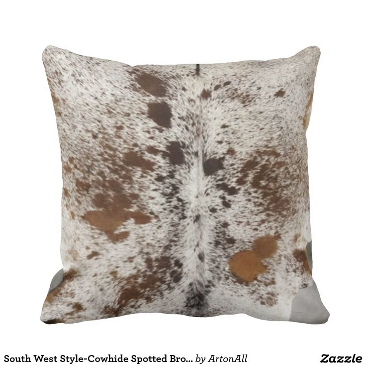 South West Style-Cowhide Spotted Browns and Black