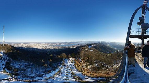 Uetliberg to Albispass · Mar-Nov ·1.5h TR · 4.5h HT