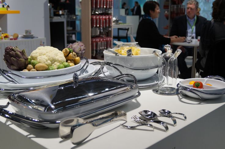 Dining at #Ambiente 2014