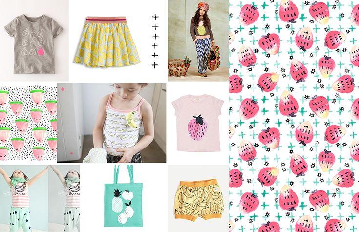 Pattern Observer Children's Trends: Tutti Fruit: