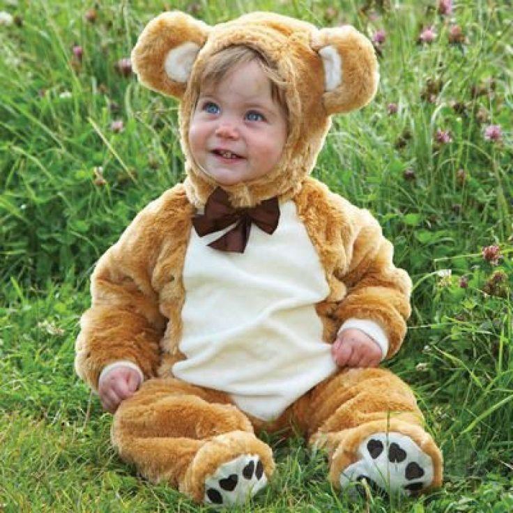 Køb Udklædning - Bamse - 12-18 måneder. online - Udklædning og Rolleleg