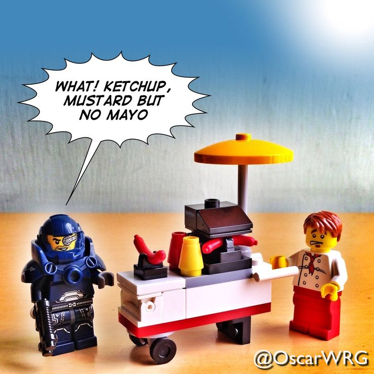 #LEGO_Galaxy_Patrol and #LEGO #HotDogStand #HotDog #LEGOcreator