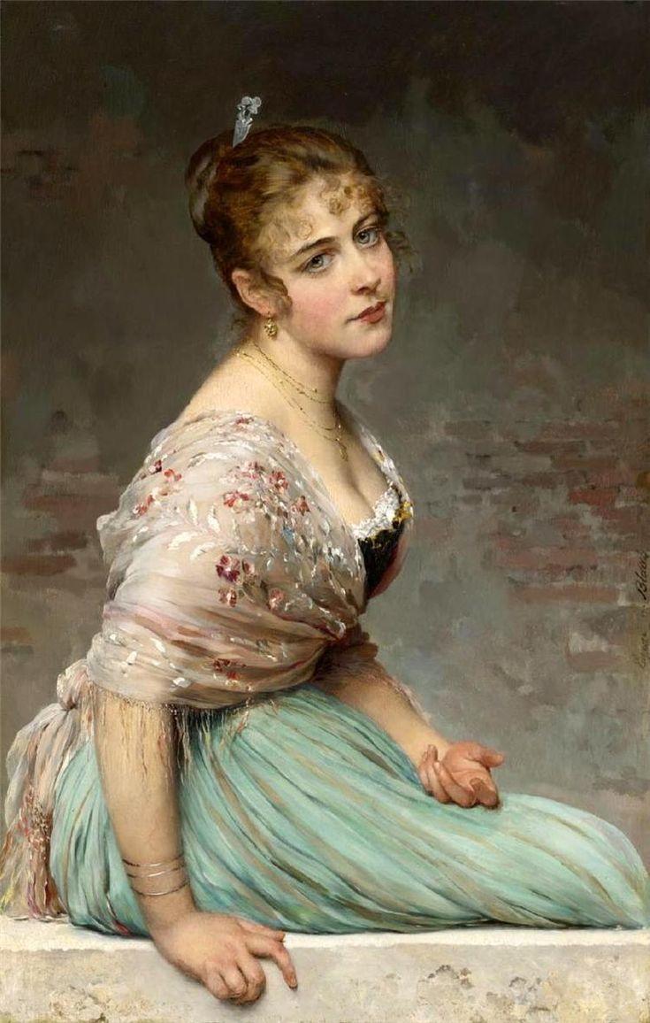 Итальянский художник Eugene de Blaas