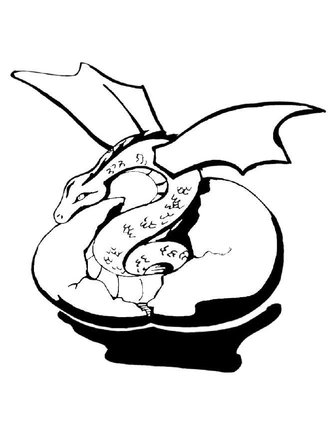 Dragon Coloring Games
