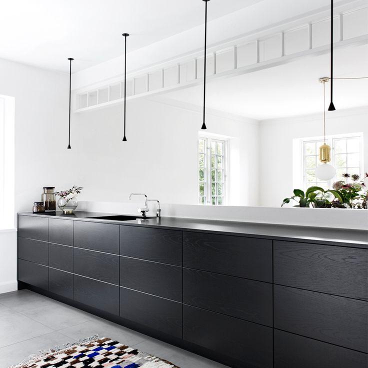 Lovely 74 Besten Dunkle Küchen   Schick Durch Schwarz U0026 Grau Bilder Auf Pinterest  | Arbeitsplatte, Dunkle Küchen Und Design Küchen Home Design Ideas