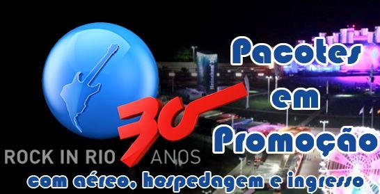 Rock in Rio Brasil 2015 Pacotes de viagens promocionais HU #rockinrio #rockinriobrasil #ingressosrockinrio #promoções