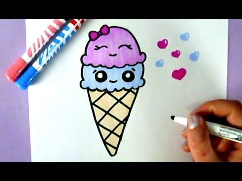 COMMENT DESSINER HARLEY QUINN KAWAII ÉTAPE PAR ÉTAPE – Dessins kawaii facile - YouTube