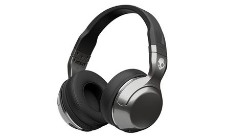 Skullcandy Hesh 2 Bluetooth Over-Ear Headphones in Silver, S6HBHY516 | Groupon