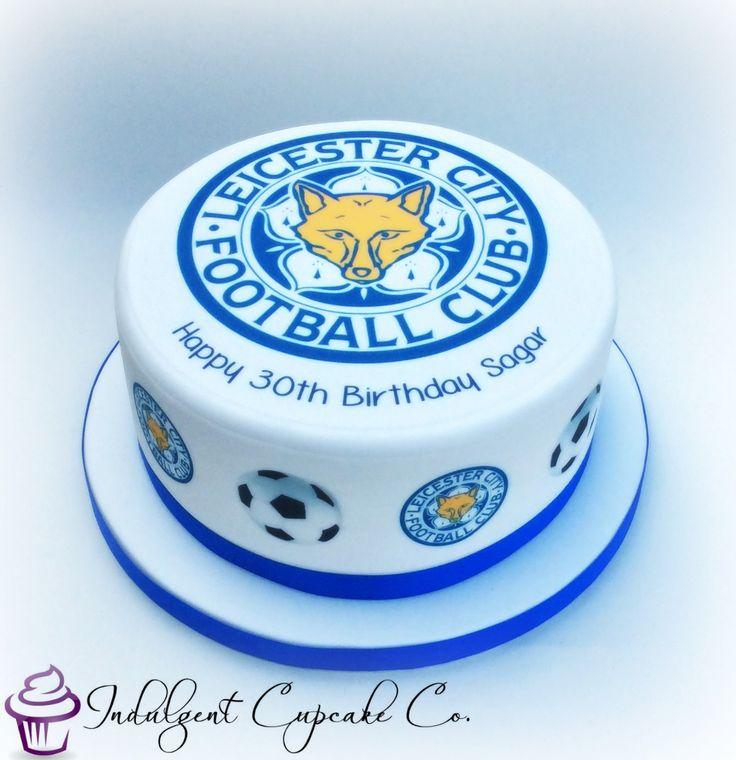 Leicester City Football Club (LCFC) cake.......