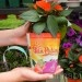 This is the best idea ever! A soil wrap that you can plant. It is sustainable because the wrap decomposes and plastic isn't used.