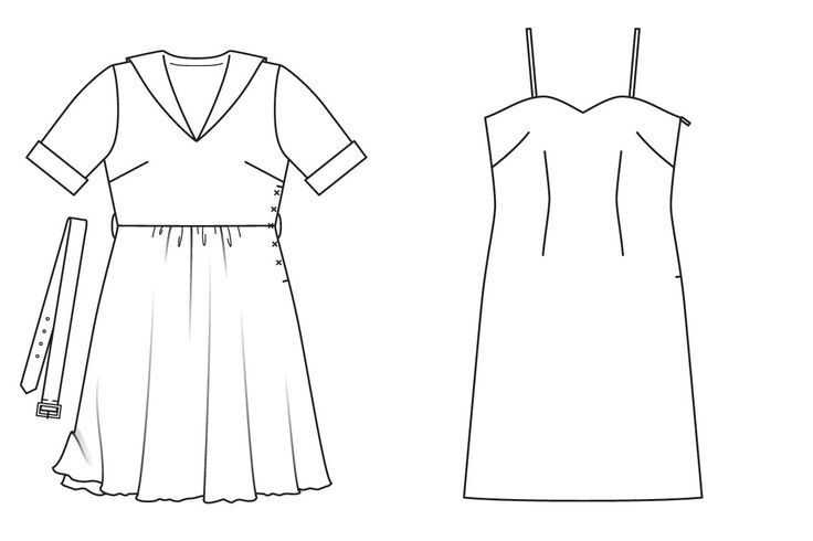 Платье с чехлом