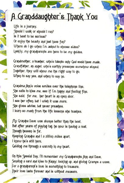 about grandparents essay Grandparents poems examples of all types of grandparents poems share, read, and learn how to write poetry about grandparents.