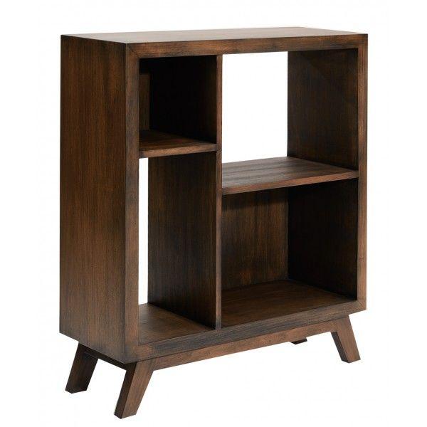 Mobiliario- Librero Medio Mod. Mussato Antique Madera- Palacio de Hierro. Precio: $10,392