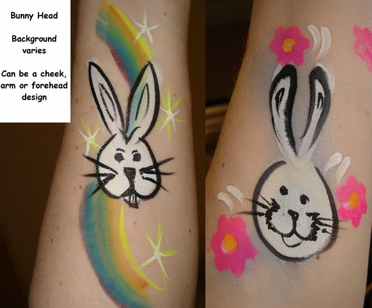 35 best Easter Face Painting images on Pinterest | Face paintings ...