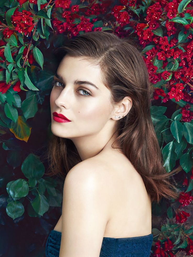 Amber Anderson for Harper's Bazaar Korea July 2015 #Burberry makeup