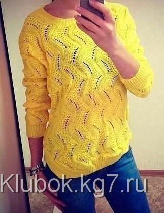 Желтый свитер | Клубок