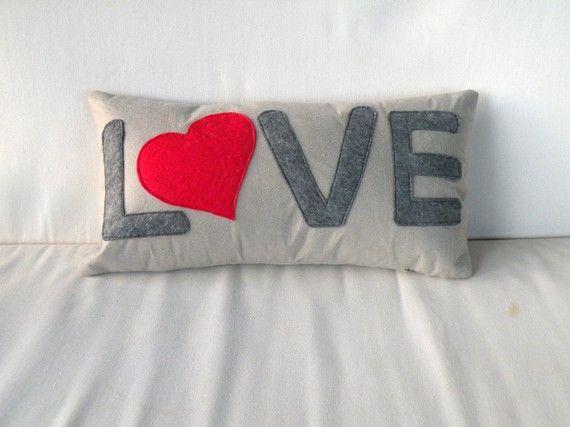 valentine pillow.