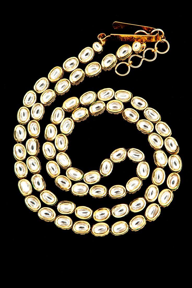 Vilandi waist belt in gold plating