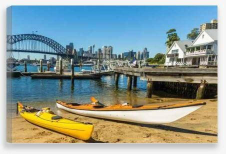 Canvas Wall Art – A Day on the Water