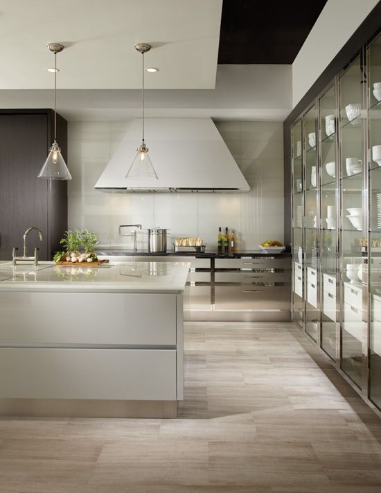 Contemporary | Greys | Downsview Kitchens and Fine Custom Cabinetry |  Manufacturers of Custom Kitchen Cabinets