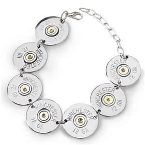 Shotgun shell bracelet. No tutorial - idea only