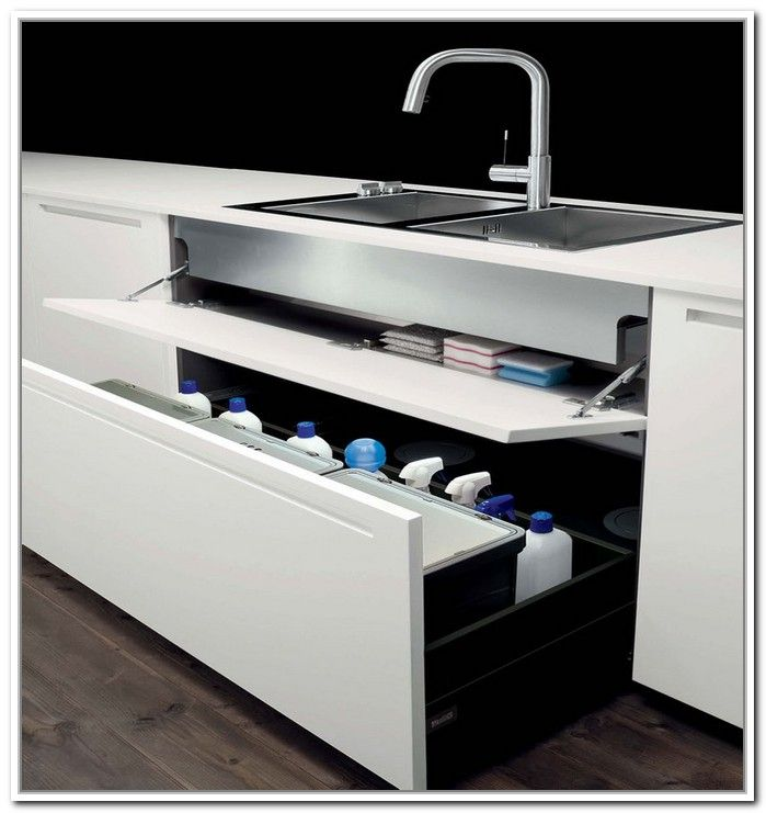 21 Best Images About Under Sink Kitchen Storage On Pinterest