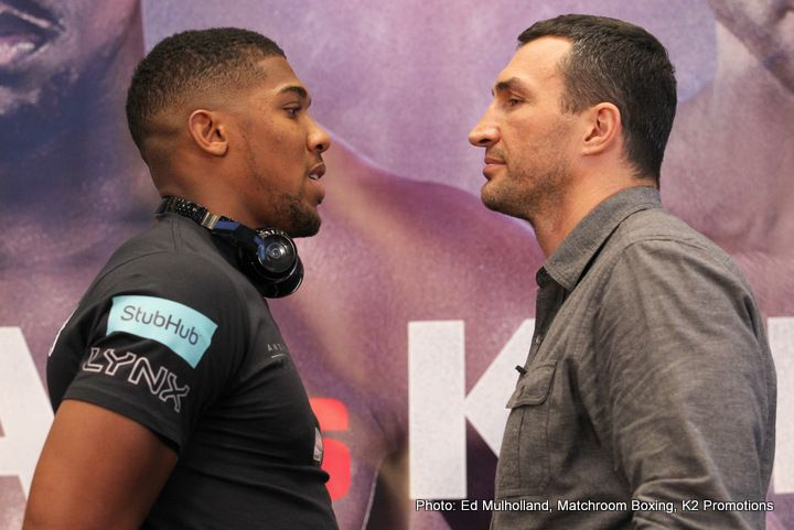 Lamon Brewster gives his take on the Joshua-Klitschko fight: I dont see anyone beating Joshua
