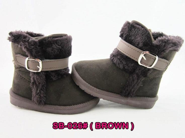 Sepatu boots Brown (SB-06)