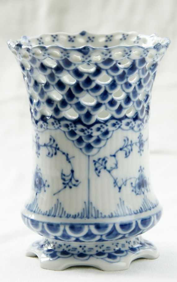 Royal Copenhagen Blue Fluted Full Lace by NothernAntique on Etsy, $189.00