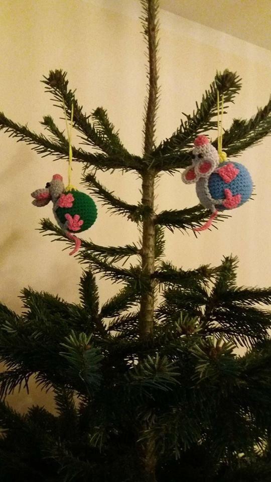 Vánoční myši