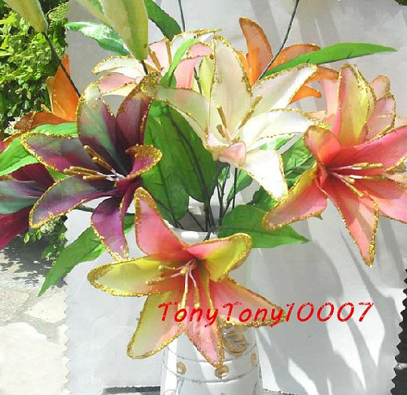 Handmade Colorful Lily :P